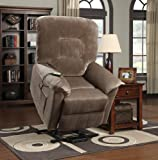 Coaster Home Furnishings Casual Power Lift Recliner, Brown