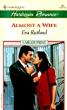 img - for Almost a Wife book / textbook / text book