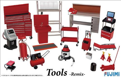 Fujimi 1/24 Garage & Tools Series No.28 tool remix Fujimi