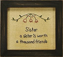 Stitcheries by Kathy Sign - Sister