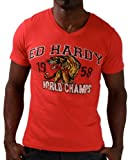 517TWdS%2BMqL. SL160  Ed Hardy Christian Audigier Mens World Champs T Shirt 2012 Style