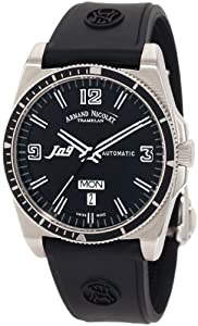 Armand Nicolet Men's 9660A-NR-G9660 J09 Casual Automatic Stainless-Steel Watch by Armand Nicolet
