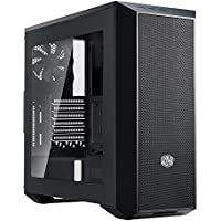Cooler Master MasterBox 5 E-ATX Mid Tower Computer Case Chassis (Black) + MWE 500W Power Supply