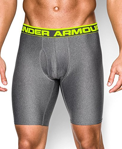 Under Armour Men's UA Original Series 9' Boxerjock® Large Carbon Heather