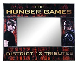 "The Hunger Games Movie ""District 12 Tributes"" Picture Frame/Mirror"