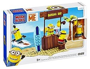 Amazon Com Mega Bloks Despicable Me Beach Day Toys Amp Games