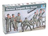 Trumpeter German Leopold Railway Gun Crew Figure Set, Scale 1/35, 8-Pack