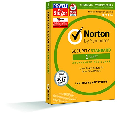 Symantec Norton Security Standard - Sicurezza e Antivirus (1 dispositivo - PC e Mac)