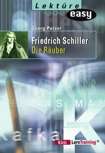 Friedrich Schiller. Die Räuber. Zum schnellen Nachlesen. (Lernmaterialien)