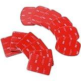 XCSOURCE® Kit 12 pcs Accessoires pour Casque fixation plate incurvée adhésif pour Gopro Hero 1 2 3 3+ 4 OS85