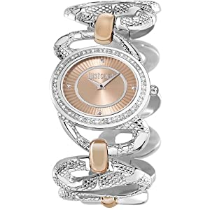 Just Cavalli R7253577506 Women's Sinous Gold Dial Watch