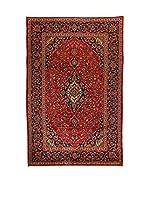 Eden Carpets Alfombra M.Kashan Rojo/Azul 302 x 198 cm