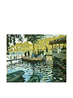Legendarte Lienzo Claude Monet - La Grenouillère
