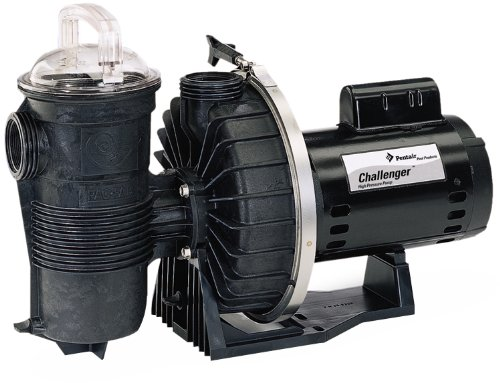 Pentair CHII-N1-1-1/2FE 3PH Challenger 3-Phase Energy Efficient Single Speed Full Rated High Pressure Inground Pump, 1-1/2 HP (High Pressure Pool Pump compare prices)