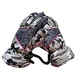 1stモール 12V ヒーターグローブ バイク ツーリング 温度 調節 直結 手袋 フリース素材 ( グレー ) ST-SINHEAT-GY