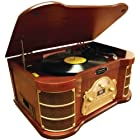 PYLE HOME PTCDS2UI Classical Turntable with iPod(R)
