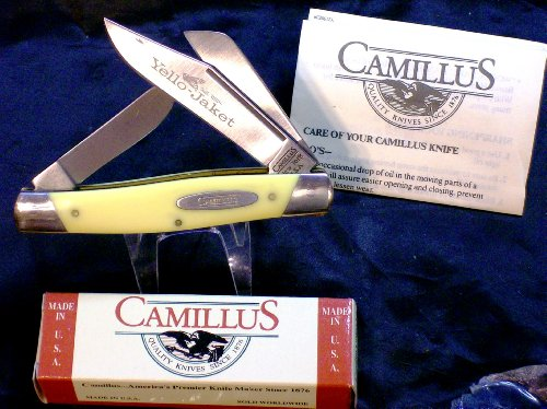 Camillus 718Y Yello Jaket-Premium Stockman Knife Original Packaging & Paperwork