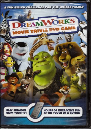 Dreamworks Movie Trivia DVD Game - 1