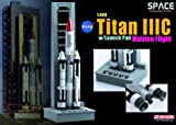 Dragon Models 1/400 Titan IIIC with Launch Pad, Maiden Flight