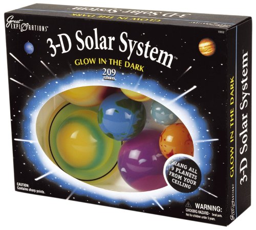 3-d Solar System Cre-19862 5018163003870 By University Games