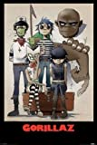 Posters: Gorillaz Poster - Plastic Beach (36 x 24 inches)