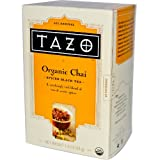 Tazo Teas, Organic Chai, Spiced Black Tea, 20 Philtrebags, 1.9 oz (54 g)