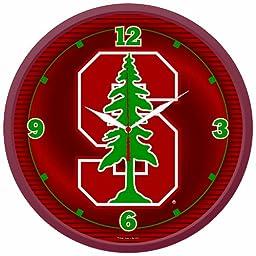NCAA Stanford Cardinal Round Clock
