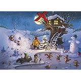 """Weihnachten in der Hasenheide Adventskalendervon """"WALKO"""""""