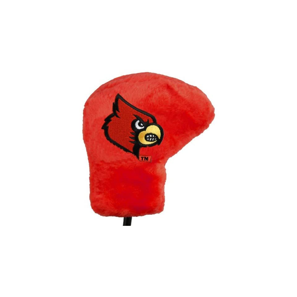 Louisville Cardinals Red Deluxe Putter Cover Sports