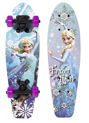 PlayWheels-Disney-Frozen-21-Wood-Cruiser-Skateboard-Frozen-Heart-Graphic
