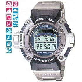 casio marine gear watch manual