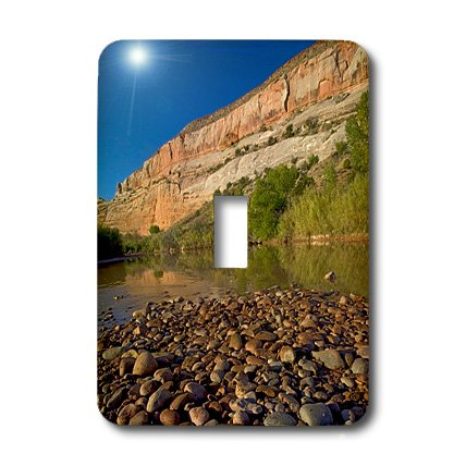 Lsp_189839_1 Danita Delimont - Charles Gurche - Rivers - Usa, Utah, Dolores River, Gravel Bar - Light Switch Covers - Single Toggle Switch