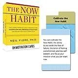 Now Habit Motivation Cards (Tarcher Inspiration Cards) (0399168141) by Fiore, Neil
