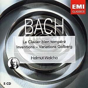 Bach : Clavier Bien Tempéré / Variations Goldberg (Coffret 5 CD)
