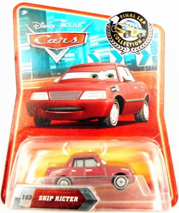 Disney / Pixar CARS Exclusive 1:55 Die Cast Car Final Lap Series Skip Ricter - 1
