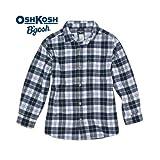 OSHKOSH B'GOSH チェック柄フランネルシャツ [並行輸入品]