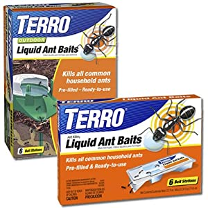 TERRO Liquid Ant Baits and Outdoor Ant Baits