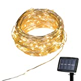 Solar-Lichterkette-150LED-Auenlichterketter-Kupferdraht-Lichterkette-Weihnachtsdeko-Weihnachtsbeleuchtung-fr-Outdoor-Garten-Haus-Weihnachtsfest-Hochzeit-gelb
