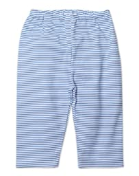 Zutano Unisex Baby Candy Stripe Pant, Periwinkle, 6 Months