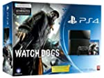 Console PS4 500 Go Noire + Watch Dogs