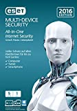 Software - ESET Multi Device Security 2016 - 5 Ger�te (Frustfreie Verpackung)