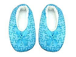Jack & Ginni Stylish Woolen Blue Colour Footie for Baby Girl & Baby Boy - 1 Pair Pack