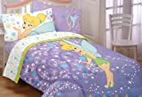 Tinkerbell Pixie Power Twin Sheet Set