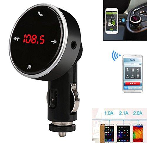 Hipzop Sans fil Bluetooth LCD Lecteur MP3 Kit de voiture SD MMC USB Transmetteur FM Modulator