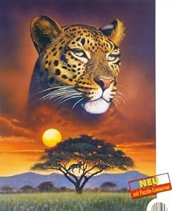 puzzle herr der steppe 1000 teile 48 x 68 cm mit puzzle conserver tolles afrika motiv. Black Bedroom Furniture Sets. Home Design Ideas