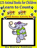 1 2 3 - Animal Books for Children, Counting. Childrens books ages 2-4
