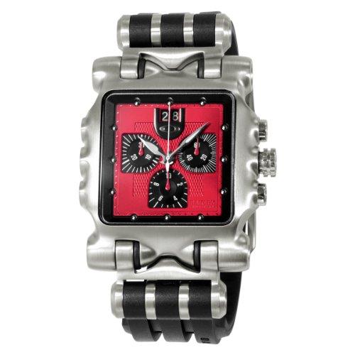 fbf50526307 Oakley Men s 10-221 Minute Machine Unobtainium Strap Edition Titanium  Chronograph Watch Review