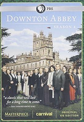 Masterpiece Downton Abbey Season 1-4 DVD