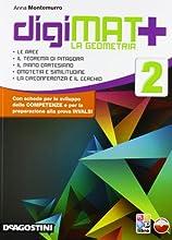 Digimat +. Aritmetica-Geometria-Quaderno competenze. Con espansione online. Per la Scuola media. Con CD-ROM: 2