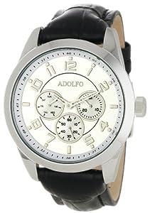 ADOLFO Men's 31016C Multifunction 3 Sub Zone Watch